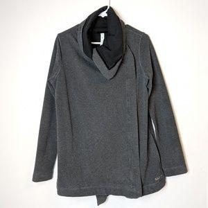 Rare Lululemon Savasana wrap grey black jacket